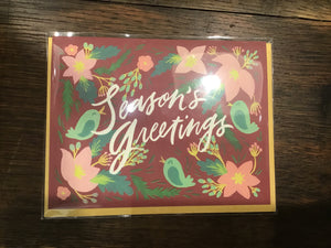 Seasons Greetings Card by Wink Wink