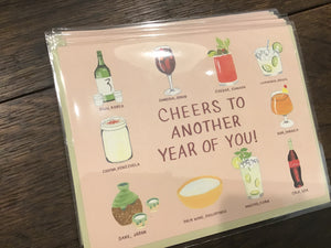 Cheers Birthday Card by Small Adventure