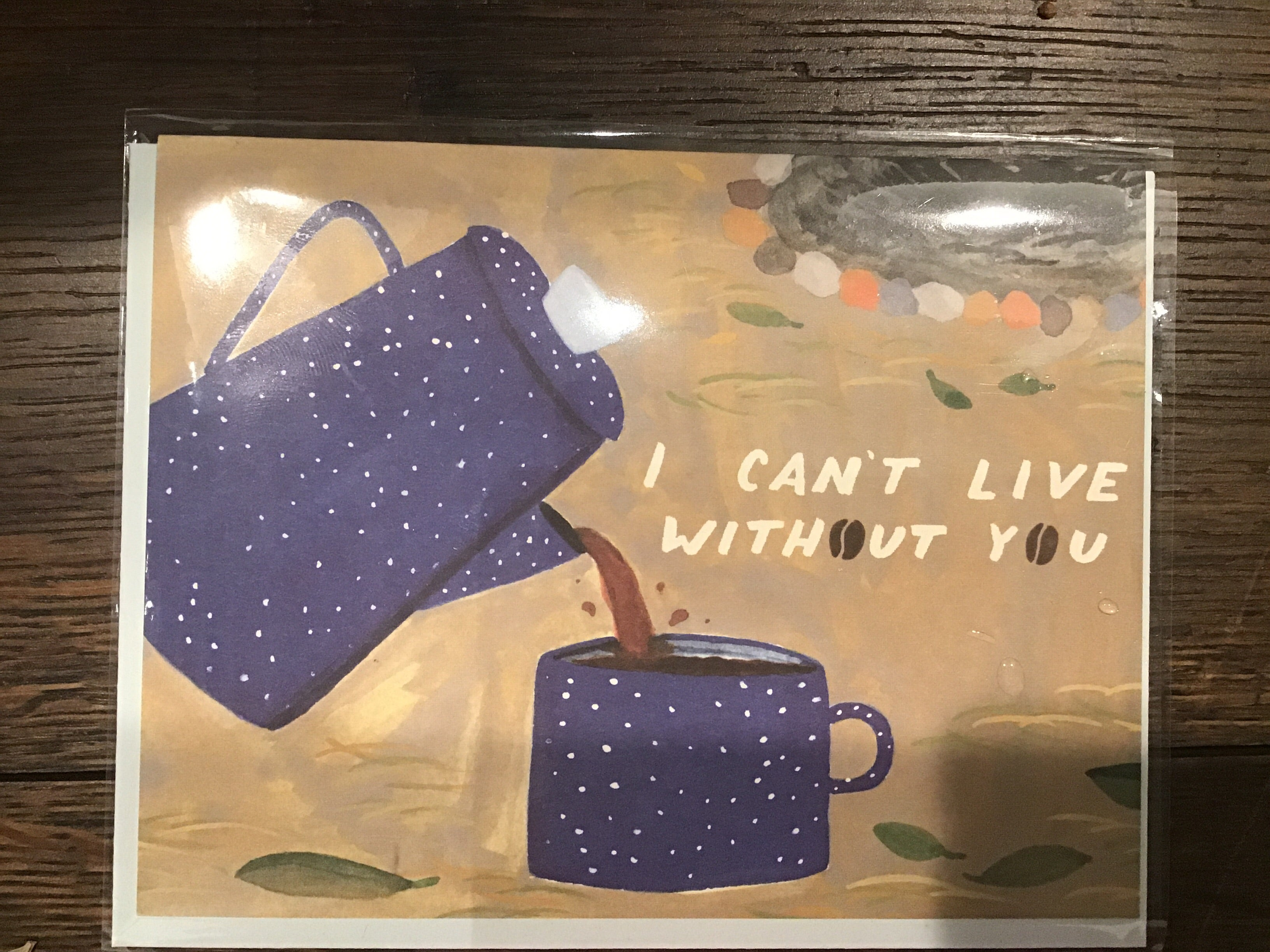 Can't Live Without You Card by Small Adventure