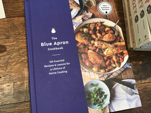 The blue apron