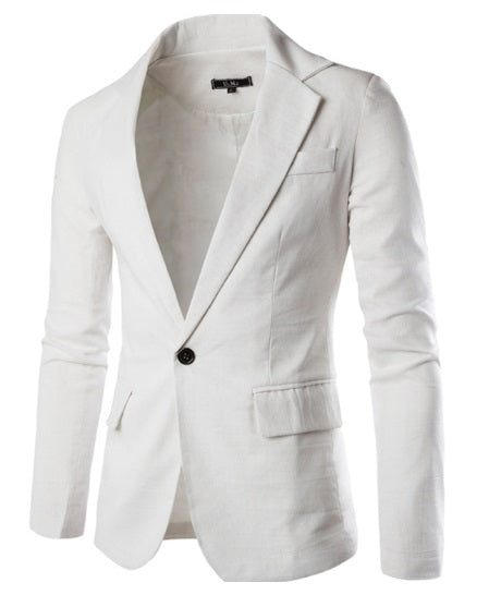 Stylish jacket cream color