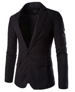Jacket navy blue color with silk lining