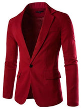 Load image into Gallery viewer, Stylish red jacket