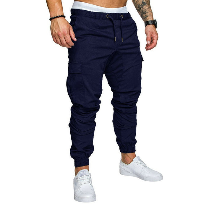 Men's hip-hop trousers with pockets