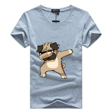 Load image into Gallery viewer, Man's T-shirt . Dancing dog.