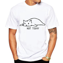 Load image into Gallery viewer, T-shirt. Lazy cat