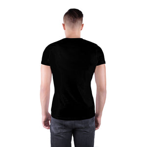 Black T-shirt adjacent silhouette