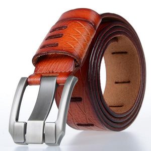The whole leather belt