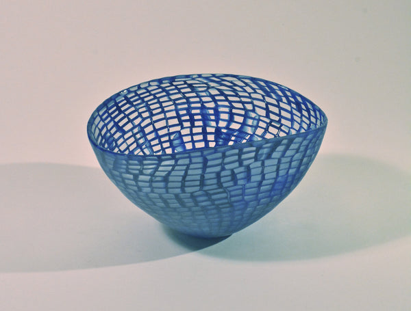 Blue Murrine Bowl by Ben Edols and Kathy Elliott