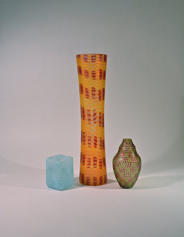 Murrine Vases by Ben Edols and Kathy Elliott