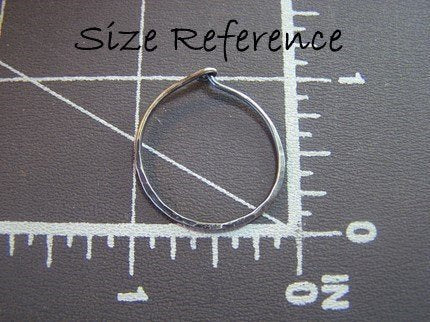 simple silver hoop earrings