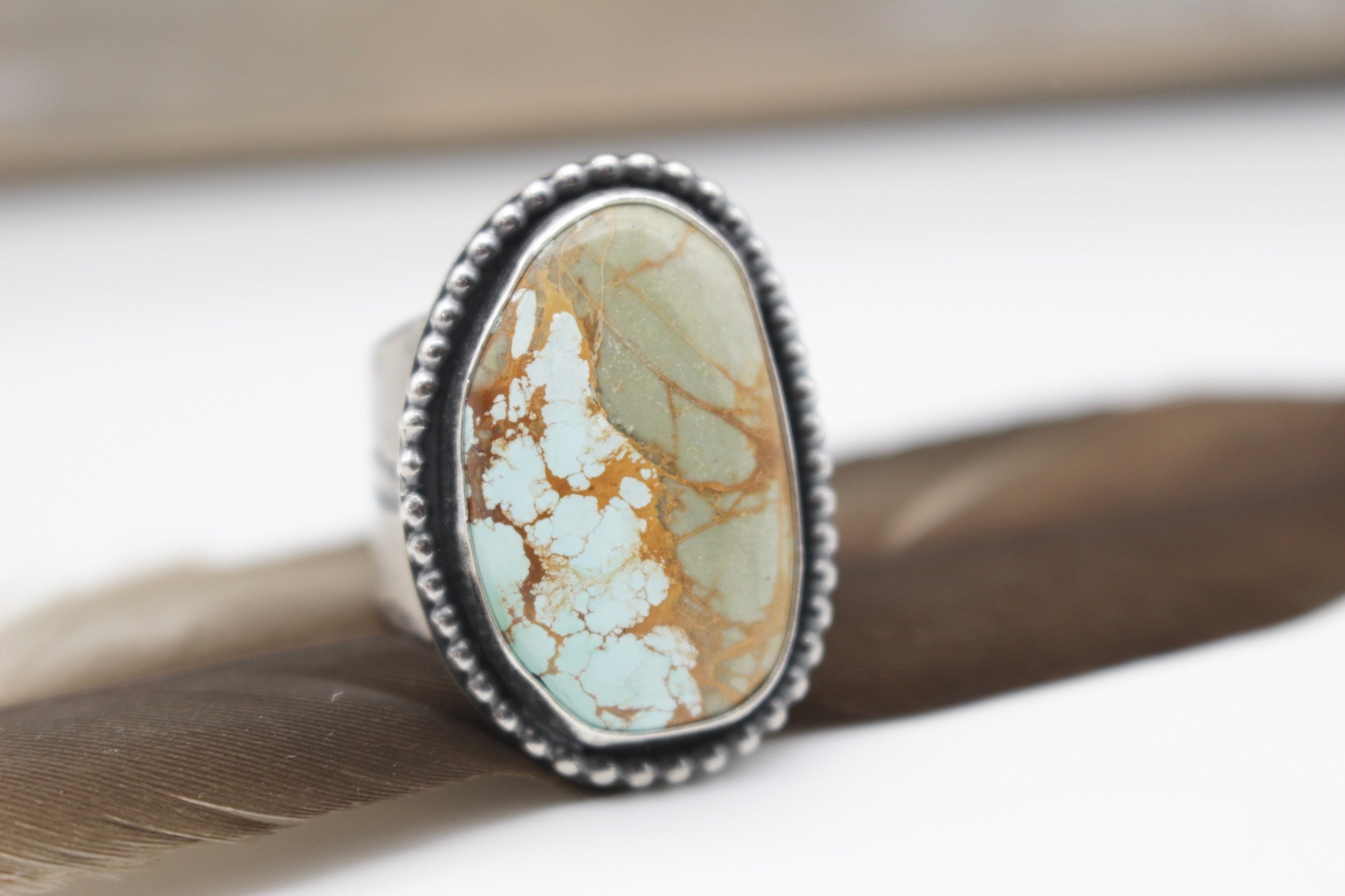 Fly Turquoise ring
