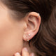 Screw Twist Diamond Earrings - Rachel Reid Jewelry