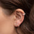 Diamond Duo Stud Earrings - Rachel Reid Jewelry