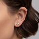 Diamond Trio Earrings - Rachel Reid Jewelry