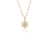 Diamond and Pearl Charm - Rachel Reid Jewelry