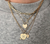 Personalized Diamond Heart Necklace - Rachel Reid Jewelry