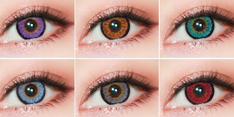 Vibrant Colored Lenses