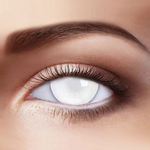 Blind White Special Effect Colored Contact Lenses