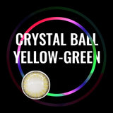 Eye Circle Lens Crystal Ball Yellow-Green prescription colored contact lenses-Eyemi