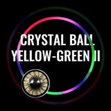 Eye Circle Lens Crystal Ball Yellow-Green II prescription colored contact lenses-Eyemi