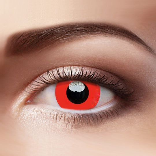 Eye Circle Lens Devil Red Naruto prescription colored contact lenses-Eyemi