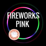 Eye Circle Lens Fireworks Pink prescription colored contact lenses-Eyemi