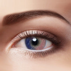 Galaxy Pink Colored Contact Lenses Eyemi