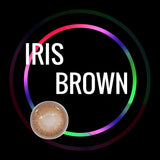 Eye Circle Lens Iris Brown prescription colored contact lenses-Eyemi