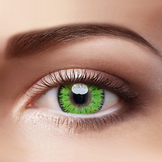 Eye Circle Lens Mystery Green prescription colored contact lenses-Eyemi
