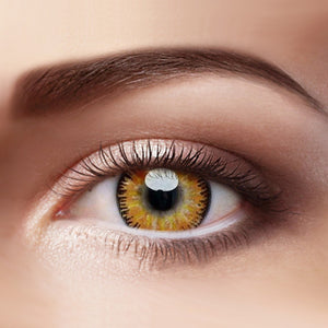 Eye Circle Lens Mystery Yellow prescription colored contact lenses-Eyemi