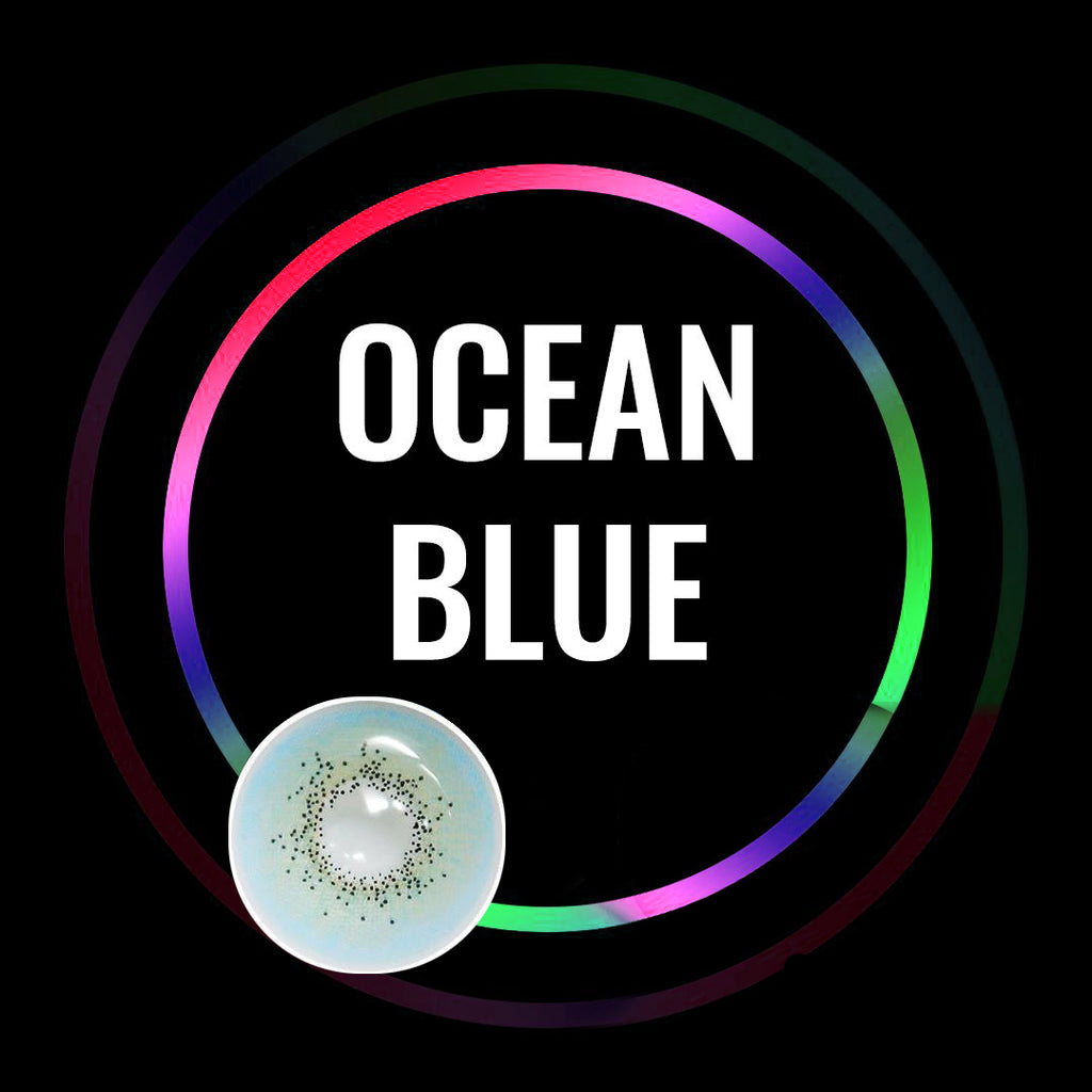 Eye Circle Lens Ocean Blue prescription colored contact lenses-Eyemi