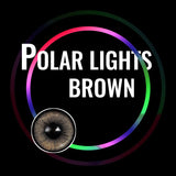 Eye Circle Lens Polar Lights Brown prescription colored contact lenses-Eyemi