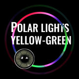 Eye Circle Lens Polar Lights Yellow-Green prescription colored contact lenses-Eyemi