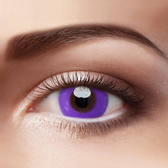 Eye Circle Lens Pure Purple prescription colored contact lenses-Eyemi