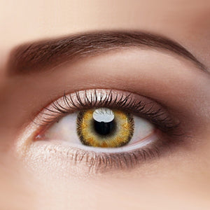 Eye Circle Lens Radial Brown prescription colored contact lenses-Eyemi