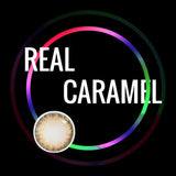 Eye Circle Lens Real Caramel prescription colored contact lenses-Eyemi
