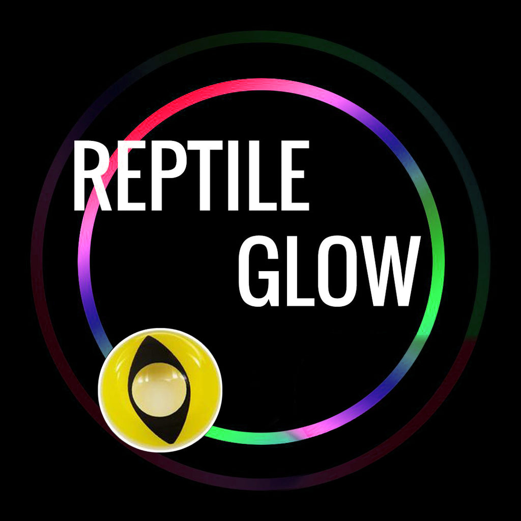 Eye Circle Lens Reptile Glow prescription colored contact lenses-Eyemi