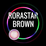 Eye Circle Lens Rorastar Brown prescription colored contact lenses-Eyemi