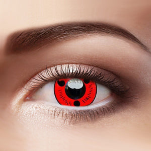 Eye Circle Lens Sharingan Magatama Naruto prescription colored contact lenses-Eyemi