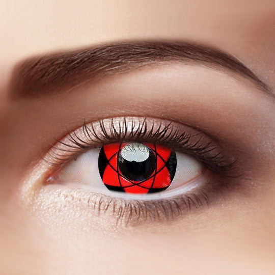 Eye Circle Lens Sharingan Sasuke Naruto prescription colored contact lenses-Eyemi