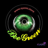 Eye Circle Lens Bee Green Toric prescription colored contact lenses-Eyemi