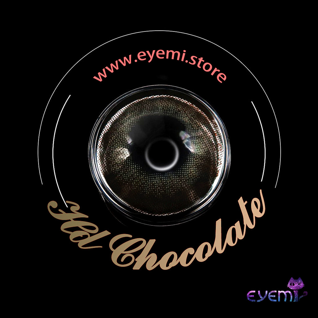 Eye Circle Lens Hd Chocolate prescription colored contact lenses-Eyemi