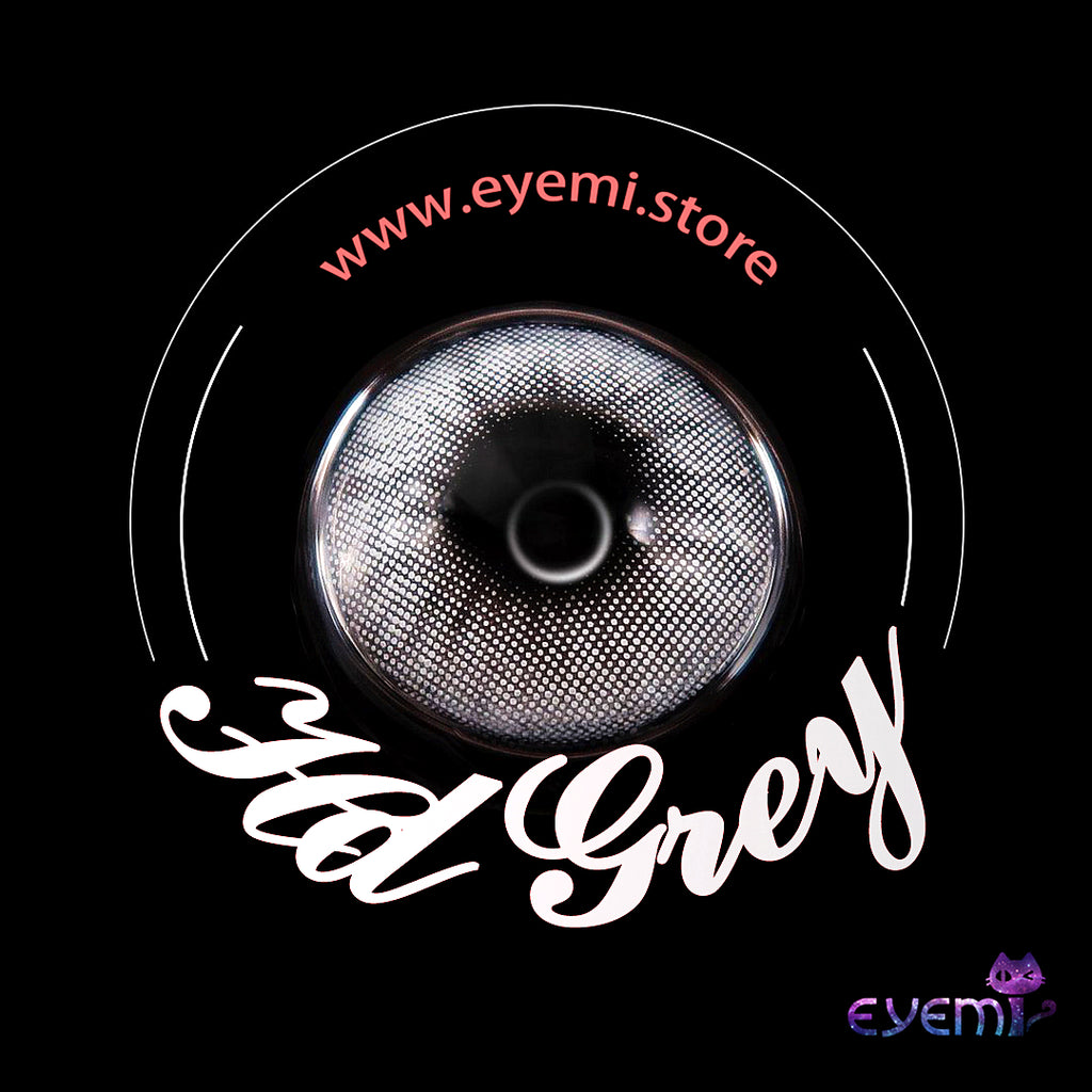 Eye Circle Lens Hd Grey prescription colored contact lenses-Eyemi