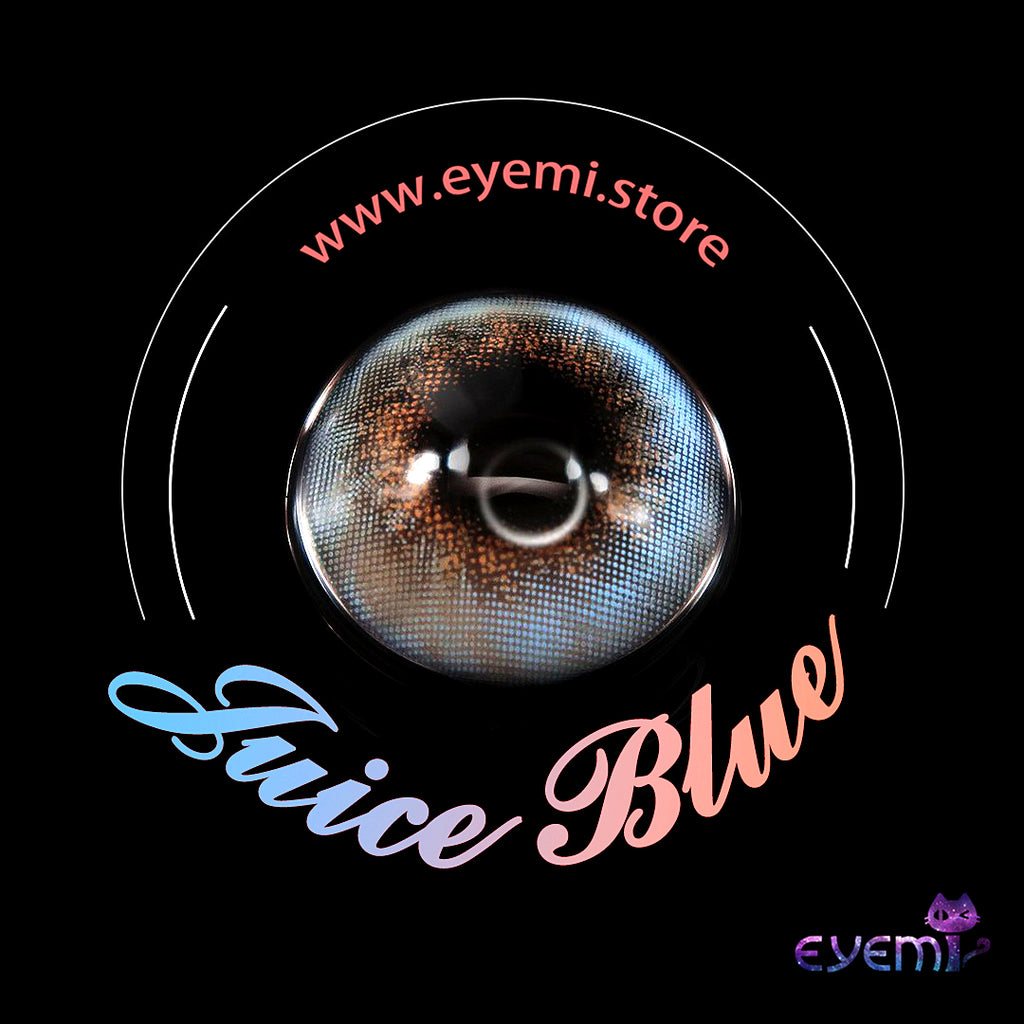 Eye Circle Lens Candy Blue prescription colored contact lenses-Eyemi