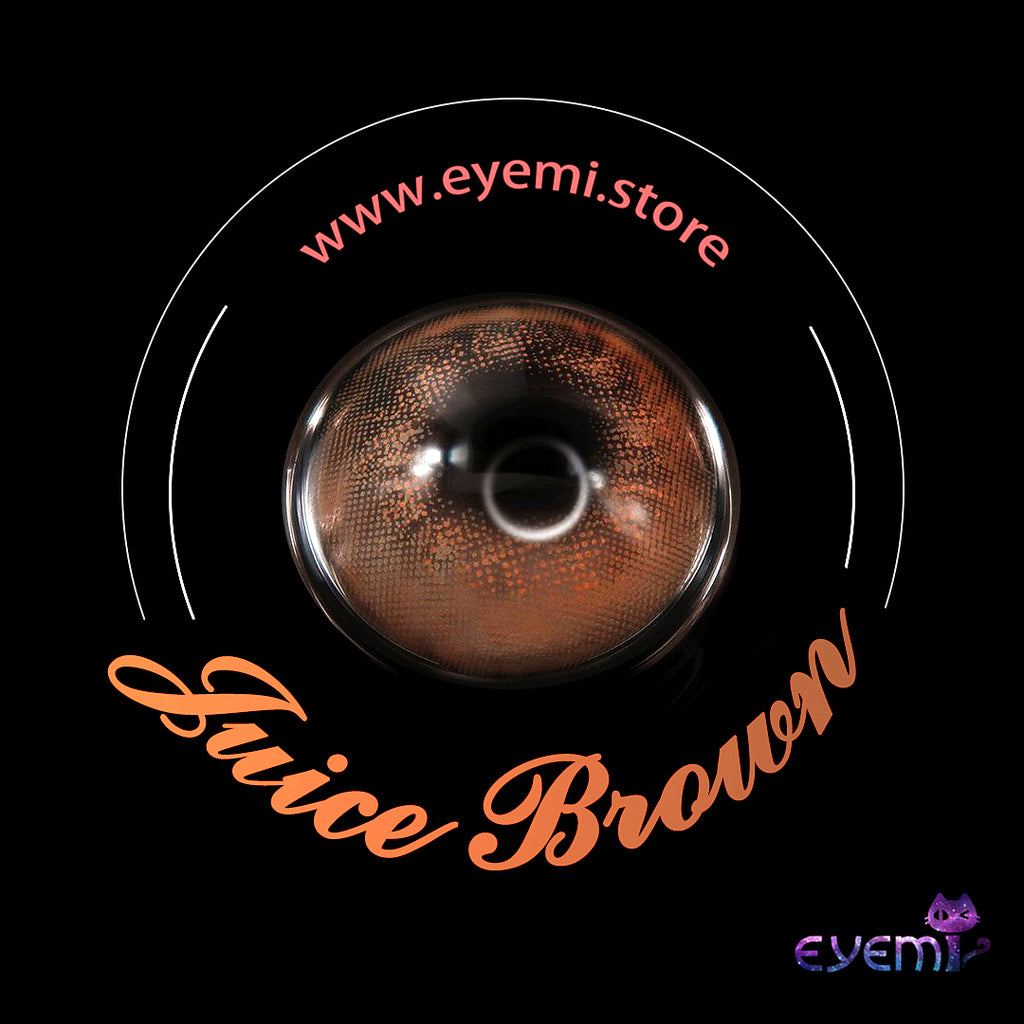 Eye Circle Lens Candy Brown prescription colored contact lenses-Eyemi