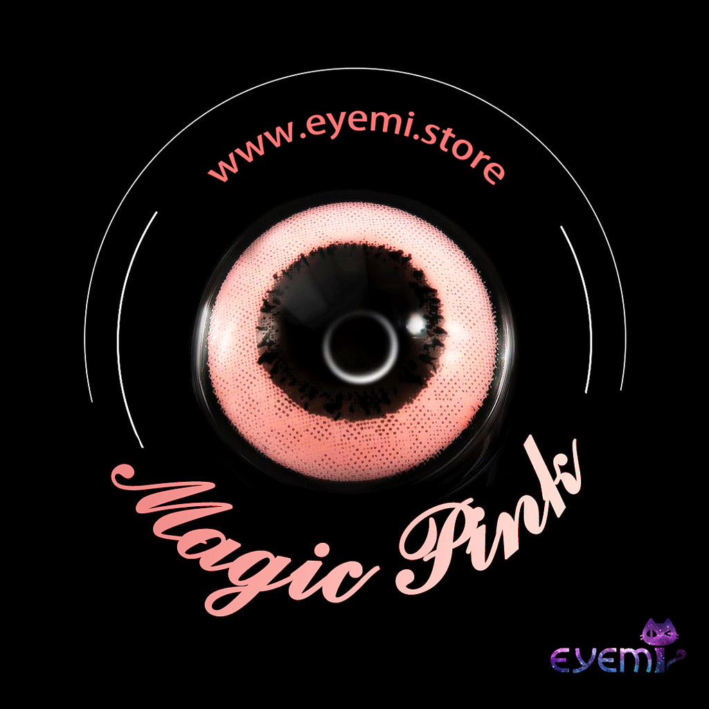 Eye Circle Lens Magic Pink prescription colored contact lenses-Eyemi
