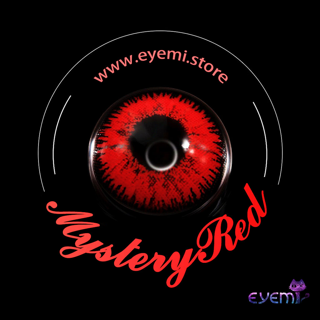 Eye Circle Lens Mystery Red Naruto prescription colored contact lenses-Eyemi