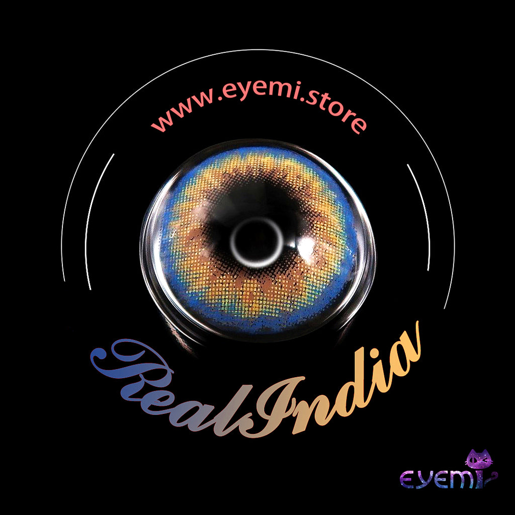 Eye Circle Lens Real India prescription colored contact lenses-Eyemi