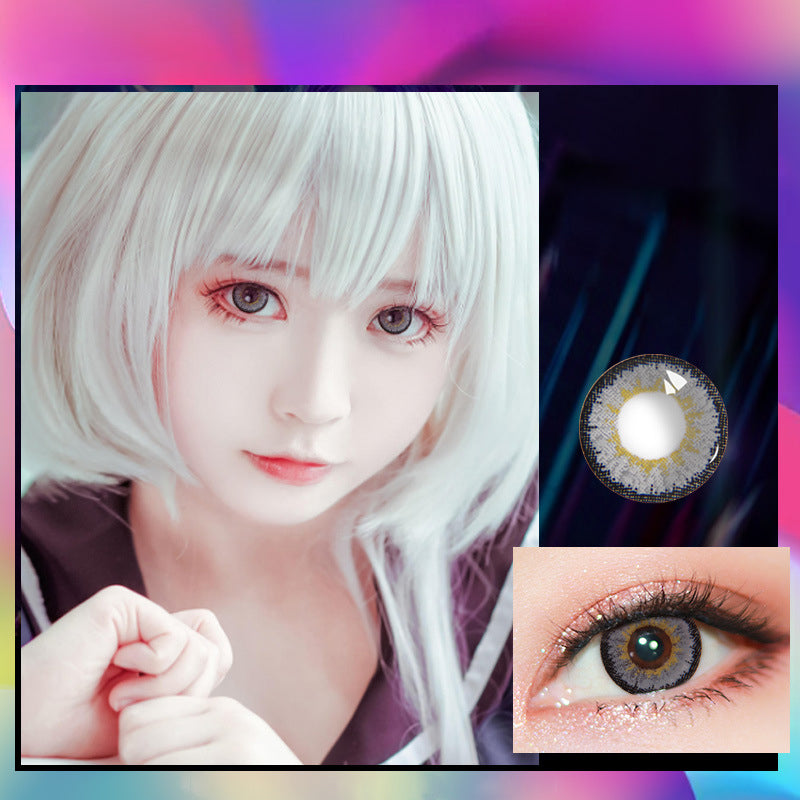 Eye Circle Lens Elf Grey prescription colored contact lenses-Eyemi